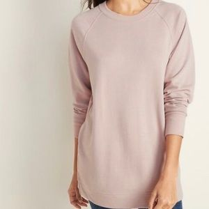 Old Navy Loose-fit French Terry Crew Neck /Women